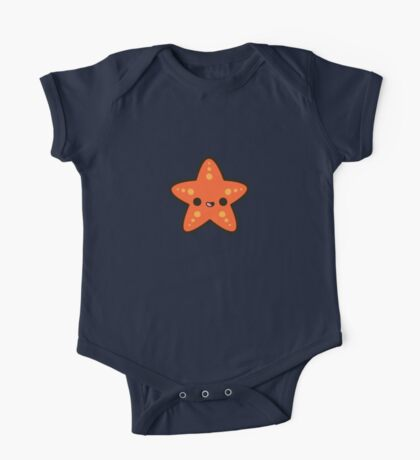 Cute starfish One Piece - Short Sleeve
