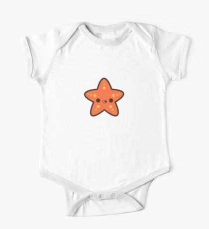 Cute starfish One Piece - Short Sleeve
