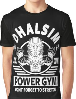 Street Fighter, Dhalsim Power Gym Graphic T-Shirt