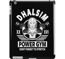 Street Fighter, Dhalsim Power Gym iPad Case/Skin