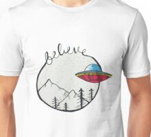 I Want To Believe X Files Unisex T-Shirt