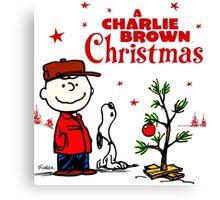 CHARLIE BROWN CHRISTMAS 1 Canvas Print