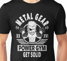 Metal Gear Power Gym, Get Solid Unisex T-Shirt