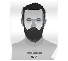 the notorious mc gregor Poster