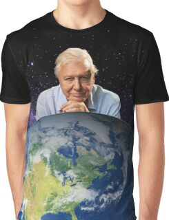 David Attenborough - Living Legend Graphic T-Shirt