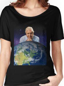 David Attenborough - Living Legend Women's Relaxed Fit T-Shirt