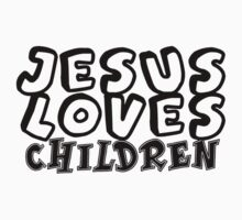 Jesus loves children   Kids Tee