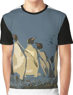 King Penguin March  Graphic T-Shirt