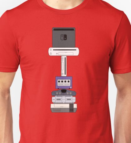 Consoles (US version) Unisex T-Shirt