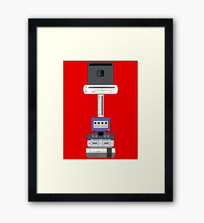 Consoles (US version) Framed Print