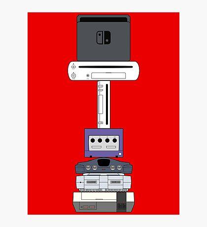 Consoles (US version) Photographic Print
