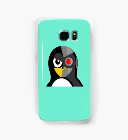 Cyborg Penguin Artwork for Blackhats and Geniuses Samsung Galaxy Case/Skin