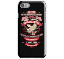 America love iPhone Case/Skin