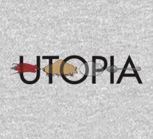 Utopia - Utopia title One Piece - Long Sleeve
