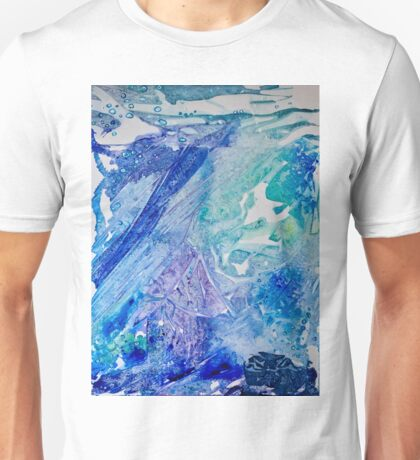 Water Scarab Fossil Under the Ocean, Environmental Unisex T-Shirt