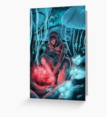 Crimson Nirnroot Greeting Card