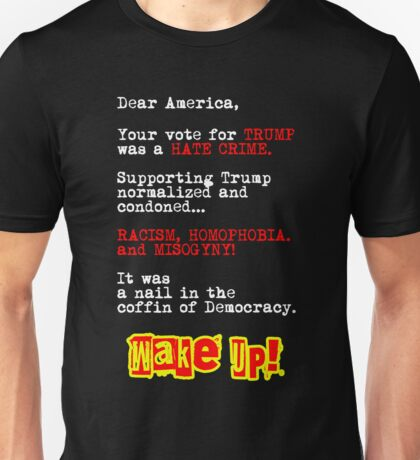 Letter to America Unisex T-Shirt