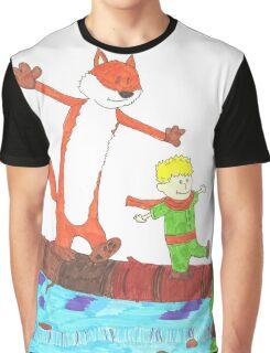 El Principito (Calvin and Hobbes) Graphic T-Shirt