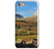 Coniston Old Man iPhone Case/Skin