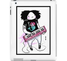 keyboard person iPad Case/Skin