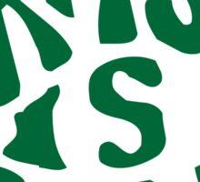 Grass is Greener Green Sticker