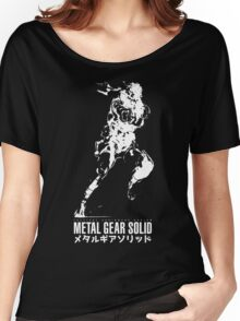 Metal Gear Solid - Snake Women's Relaxed Fit T-Shirt