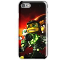 ratchet clank kuning iPhone Case/Skin