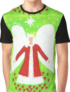 Angel of Christmas Graphic T-Shirt