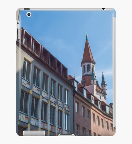 Munich buildings iPad Case/Skin