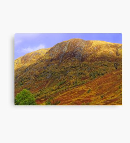 Ben Nevis Range in Autumn Canvas Print