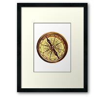 Compass Framed Print
