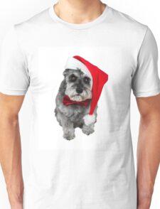 Schnauzer Santa Unisex T-Shirt