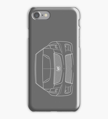 Cadillac CTS-V Front - Stencil iPhone Case/Skin