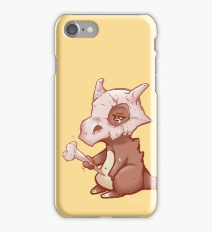 Poor Cubone iPhone Case/Skin