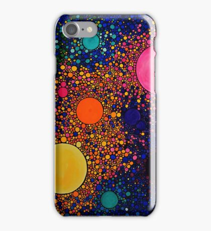 Genesis, abstract art iPhone Case/Skin