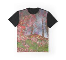 Autumn Flowers on a Hill #2 Graphic T-Shirt