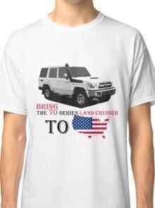 TOYOTA 70 Series Land Cruiser Classic T-Shirt