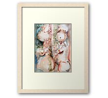 Inner Outer ~ Belly Bound Framed Print