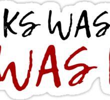 inspirational movie quotes shawshank redemption t shirts Sticker