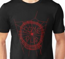 Some Pup-Red Red Unisex T-Shirt