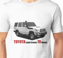 TOYOTA Land Cruiser 70 Series HZJ76 Unisex T-Shirt
