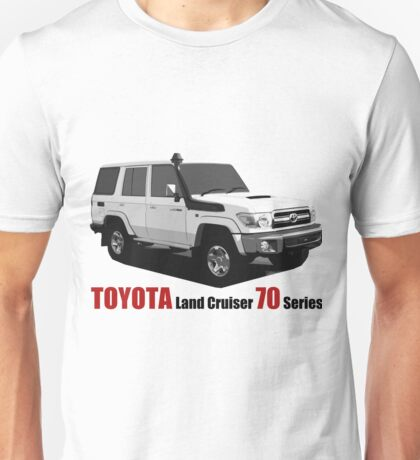TOYOTA Land Cruiser 70 Series HZJ76 Unisex T-Shirt