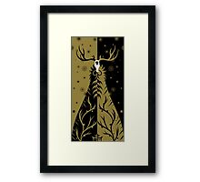 lord of the woods Framed Print