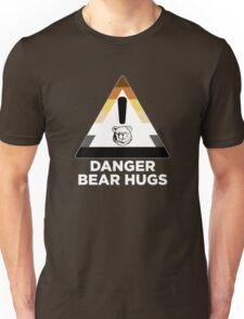 Robust Danger Bear Hugs white Unisex T-Shirt
