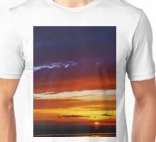 Liverpool Bay at sunset Unisex T-Shirt