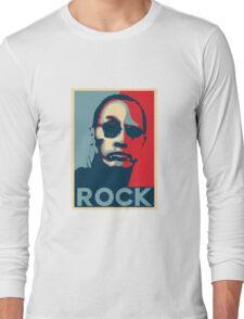 Rock for President 2020 Long Sleeve T-Shirt