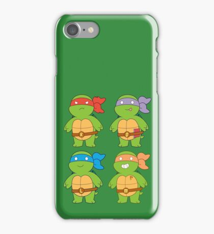 Turts and Emotes iPhone Case/Skin