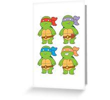 Turts and Emotes Greeting Card