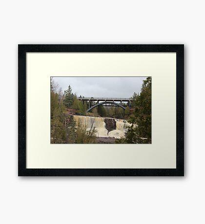 Middle Gooseberry Falls Framed Print