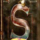 Steampunk - Alphabet - S is for Steam by Mike  Savad